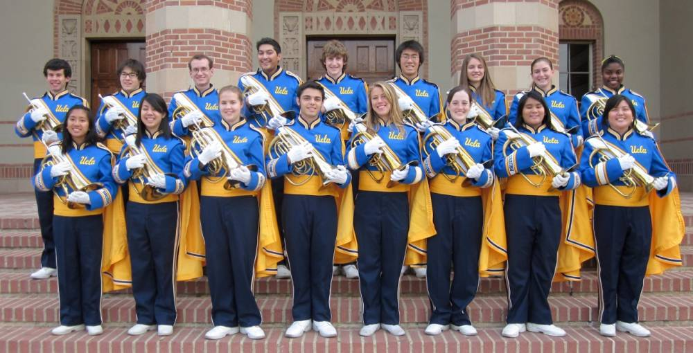 UCLA Bruin Marching Band Section Photos 2010