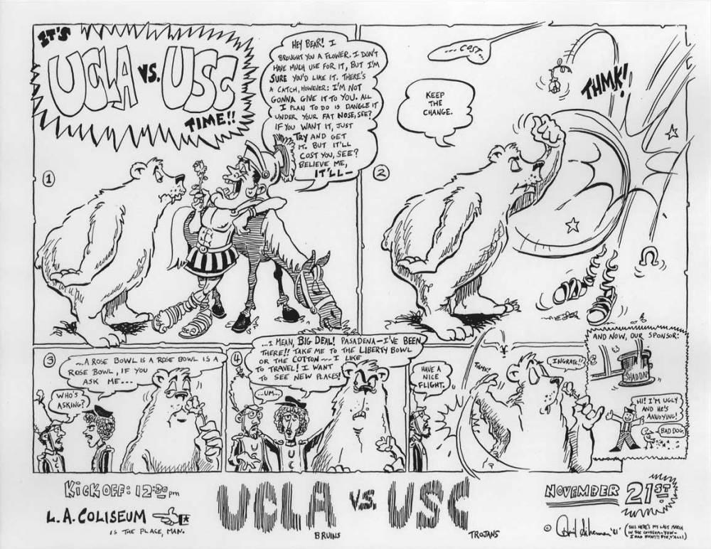 David Silverman Cartoons, 1980-1983